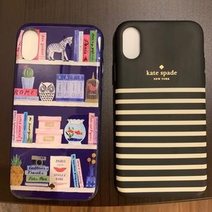 Kate Spade ♠️ xs cases bundle
